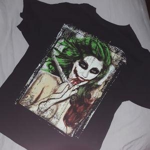 Joker girl t Shirt xl